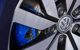 Volkswagen Golf GTE blue brake calipers