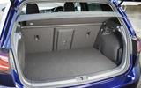 Volkswagen Golf GTE boot space