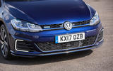 Volkswagen Golf GTE front end