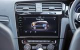 Volkswagen Golf GTE infotainment system