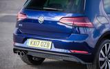 Volkswagen Golf GTE rear end