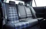 Volkswagen Golf GTE rear seats