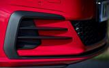Volkswagen Golf GTI air intake duct