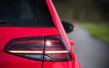 Volkswagen Golf GTI rear LED lights