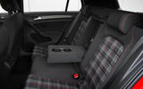 Volkswagen Golf GTI rear seats