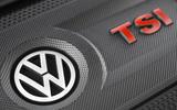 Volkswagen Golf GTI TSI engine cover