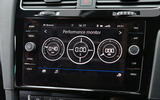 Volkswagen Golf performance monitor