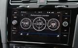 Volkswagen Golf performance monitor