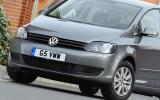 Volkswagen Golf Plus front end