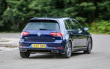 Volkswagen Golf rear cornering