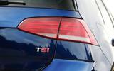 Volkswagen Golf TSI badging
