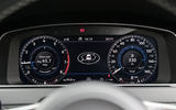 Volkswagen Golf virtual instrument cluster