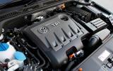 Volkswagen Jetta diesel engine