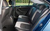 Volkswagen Jetta rear seats