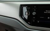 Volkswagen Polo hazard warning light button