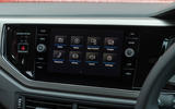 Volkswagen Polo infotainment system