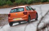 Volkswagen Polo rear cornering