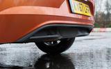 Volkswagen Polo rear diffuser