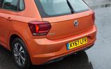 Volkswagen Polo rear end