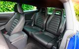 Volkswagen Scirocco rear seats