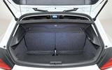 Volkswagen Scirocco boot space