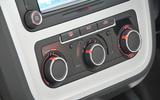 Volkswagen Scirocco climate controls