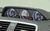 Volkswagen Scirocco power gauge dials