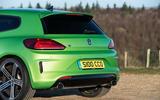 Volkswagen Scirocco R rear end