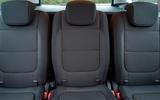 Volkswagen Sharan rear seats