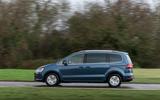 Volkswagen Sharan side profile