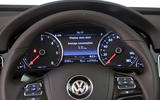 Volkswagen Touareg instrument cluster