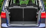 Volkswagen Touran boot space
