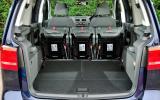 Volkswagen Touran seat flexibility