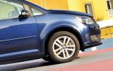 Volkswagen Touran front end
