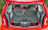 Volkswagen Up seat flexibility