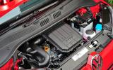 Three-cylinder Volkswagen Up engine