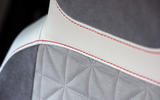 Volkswagen Up leather trimmed seats