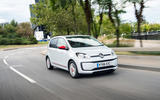 Volkswagen Up front quarter