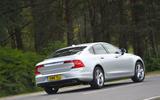 Volvo S90 rear cornering