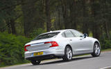 Volvo S90 rear cornering