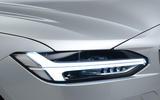 Volvo S90 Thor LED signature lights