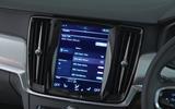 Volvo S90 infotainment