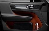 Volvo XC40 door cards