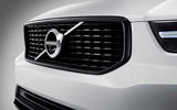 Volvo XC40 front grille