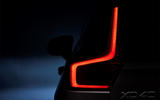 Volvo XC40 rear lights