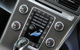 Volvo XC60 climate controls