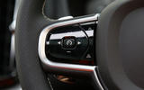Volvo XC60 cruise control buttons