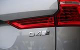 Volvo XC60 D4 badging