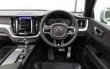 Volvo XC60 dashboard