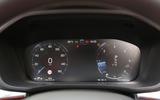 Volvo XC60 digital instrument cluster
